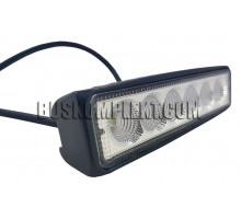 Фара LED ДХО 18 Вт (6 диодов)