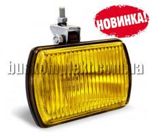 Фара противотуманная 12 В желтая с лампой