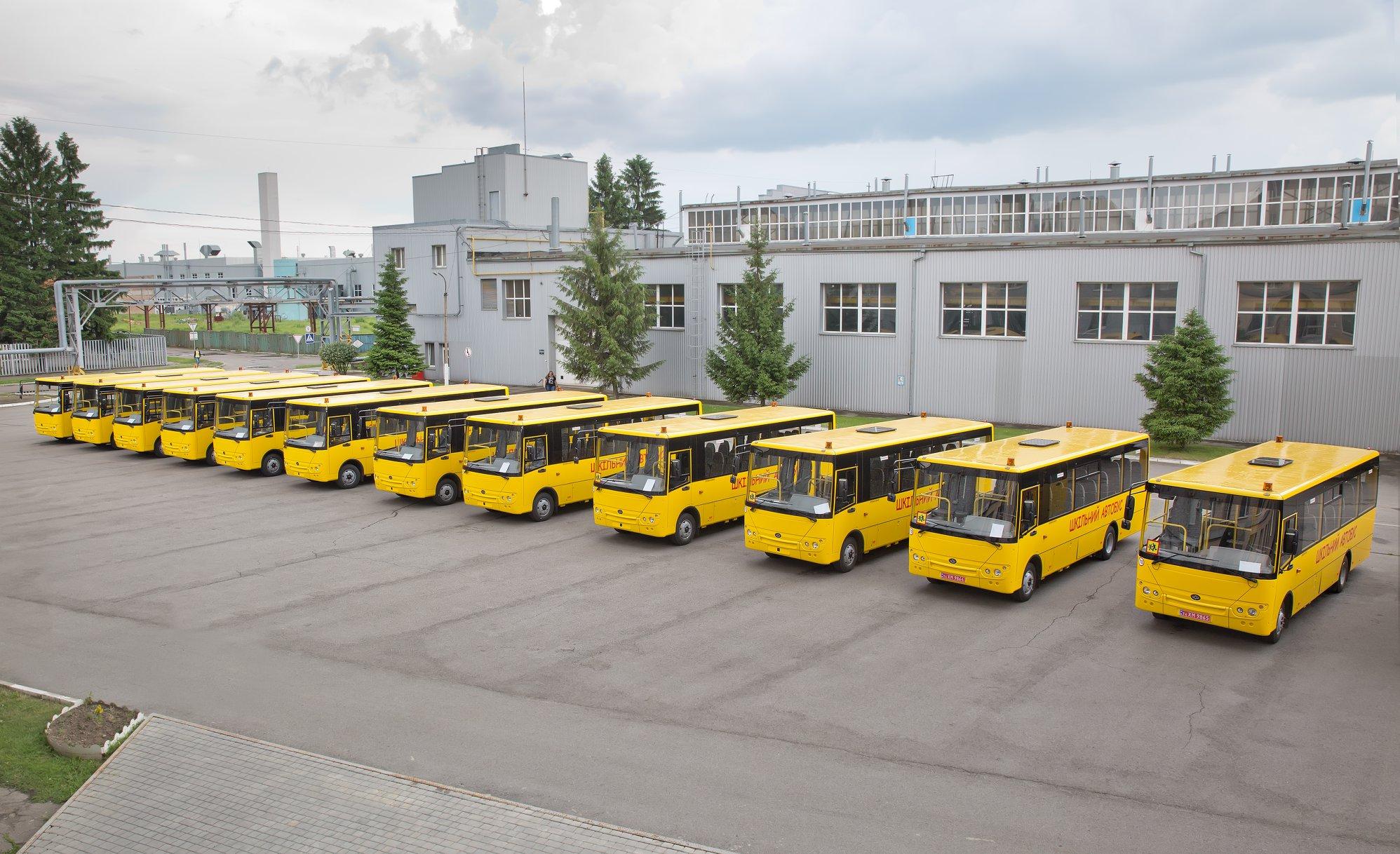 Запчасти на школьные автобусы Богдан Эталон Атаман ТАТА